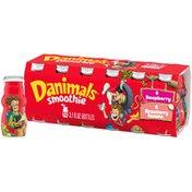 Danimals Swingin' Strawberry Banana & Rockin' Raspberry Smoothies