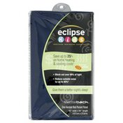 Eclipse Kendall Rod Pocket Panel, Blue, 42 x 63 Inch