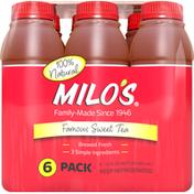 MILO Sweet Tea, Famous, 6 Pack