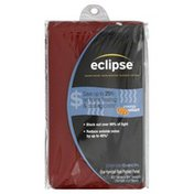 Eclipse Kendall Rod Pocket Panel, Red, 42 x 84 Inch