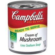 Campbell's Cream of Mushroom Low Sodium Soup