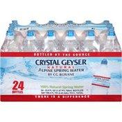 Crystal Geyser Alpine Spring Water 100% Natural Alpine Spring Water