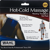 Wahl Therapeutic Gel Pack, Vibrating, Hot-Cold Massage
