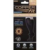 Copper Fit Compression Socks, Energy, L/XL