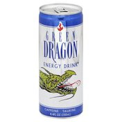 Green Dragon Energy Drink, Caffeine, Taurine