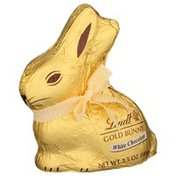 Lindt GOLD BUNNY White Chocolate, Hollow White Chocolate Bunny