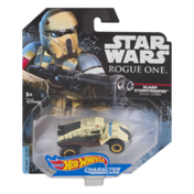 Hot Wheels Star Wars Rogue One Character Cars Scarif Stormtrooper