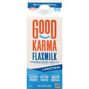 Good Karma Flaxmilk, Unsweetened Vanilla, +Protein