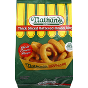 Nathan's Famous Onion Rings, Thick Sliced Battered
