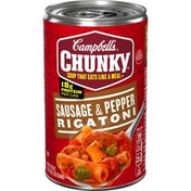 Campbell's® Chunky® Sausage & Pepper Rigatoni Soup
