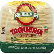 Guerrero Tortillas, Yellow Corn, Taqueria Style, Mini