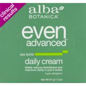 Alba Botanica Daily Cream Even Advanced Sea Lipids