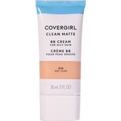 CoverGirl Clean Matte BB Cream For Fair Skin