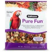 ZuPreem Pure Fun Enriching Large Bird Food Variety