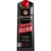 Califia Farms Concentrated Cold Brew Black Coffee