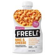 Freeli Foods Mac & Cheese, Heat & Eat Meal
