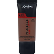 L'Oreal Pro Matte Blendable Foundation, Oil Free, Rich Chocolate