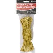 Dynamik Rope, Twisted Poly, 25 Feet