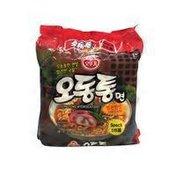Ottogi Odongtong Myon (Seafood) Spicy Flavor 5pack