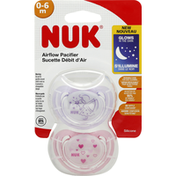 NUK Airflow Pacifier, Silicone