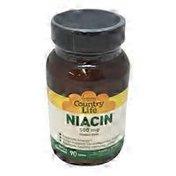 Country Life Niacin 500 Mg