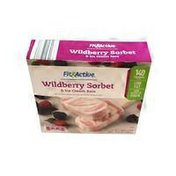 Fit & Active Wildberry Sorbet Low Fat Ice Cream Bars