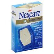 Nexcare Hydrocolloid Pads, Waterproof, XL