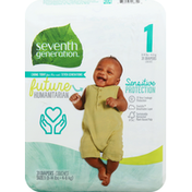 Seventh Generation Diapers, 1 (8-14 lbs)