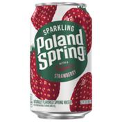 Poland spring Sparkling Water, Summer Strawberry