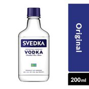 SVEDKA Vodka Plastic Bottle