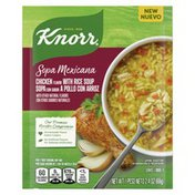 Knorr Sopa Mexicana/dry Soup Mix Chicken With Rice