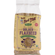 Bob's Red Mill Organic Golden Flaxseed Raw Whole