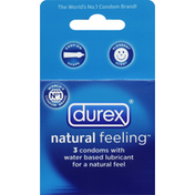 Durex Condoms, Water Based Lubricant