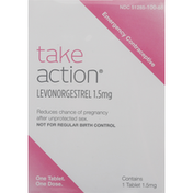 Take Action Levonorgestrel Tablet, Emergency Contraceptive