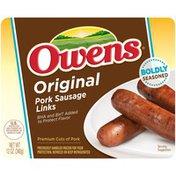 Owens Original Pork Sausage Links