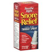 Breathe Right Throat Spray, Cool Mint