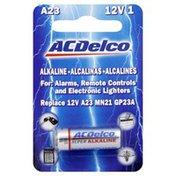 Acdelco Battery, Alkaline, A23, 12V