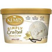 Kemps Simply Crafted Vanilla Bean Premium Ice Cream