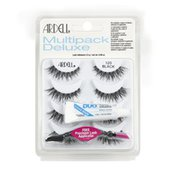 Ardell Lashes, Black 120, Multipack Deluxe