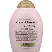 OGX Shampoo, Cherry Blossom Ginseng
