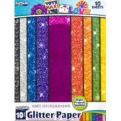 ArtSkills Glitter Paper - 10 CT
