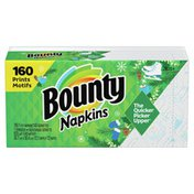 Bounty Fun Print Paper Napkins, Spring Print