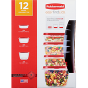 Rubbermaid Containers + Lids
