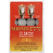 Neronim Shraga Shabbos Candles