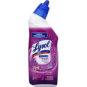 Lysol Toilet Bowl Cleaner, Lavender Fields Scent, Cling Gel