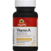ShopRite Vitamin A, 10,000 IU, Softgels