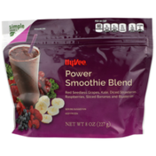 Hy-Vee Power Smoothie Blend Red Seedless Grapes, Kale, Diced Strawberries, Raspberries, Sliced Bananas And Blueberries