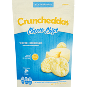 Crunchedders Cheese Chips, White Cheddar