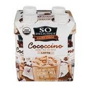 So Delicious Dairy Free Cococcino Coconut Milk Iced Coffee Latte - 4 CT
