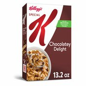 Kellogg's Special K Breakfast Cereal, 11 Vitamins and Minerals, Anytime Snacks, Chocolatey Delight